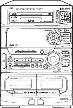 JVC CA-D672TR - Manual - Compact Component System - HiFi