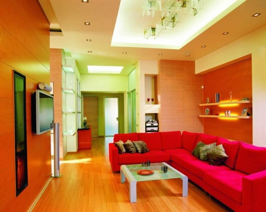 Top Living Room Colors - Modern House