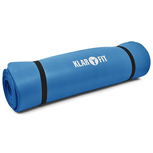 Klarfit Yoga Mat, 190x 80cm, Blue