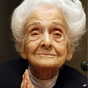 Archive photo of  Rita Levi Montalcini in 2009