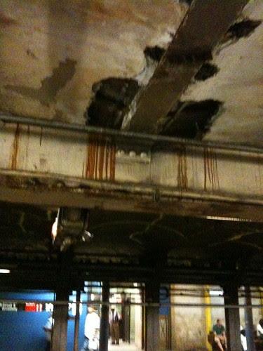 Crumbling NY subways