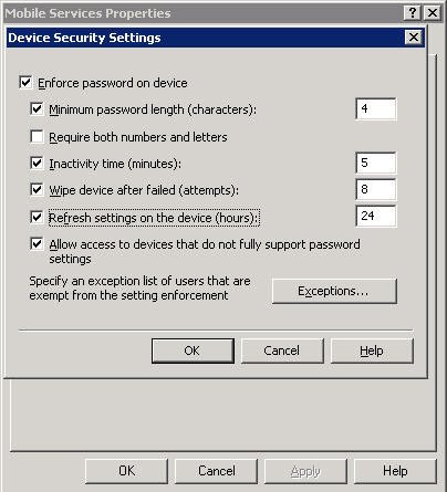 Remote Windows Mobile Wipe