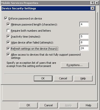 Remote Windows Mobile Wipe