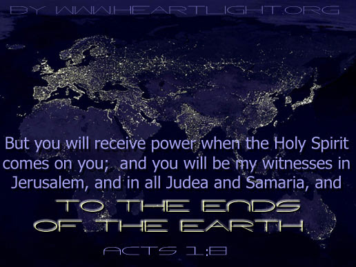 Inspirational illustration of Acts 1:8