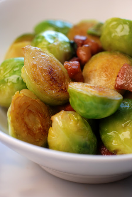 brussels sprouts with pancetta© by Haalo
