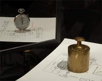 Relógio conecta diretamente o tempo à matéria