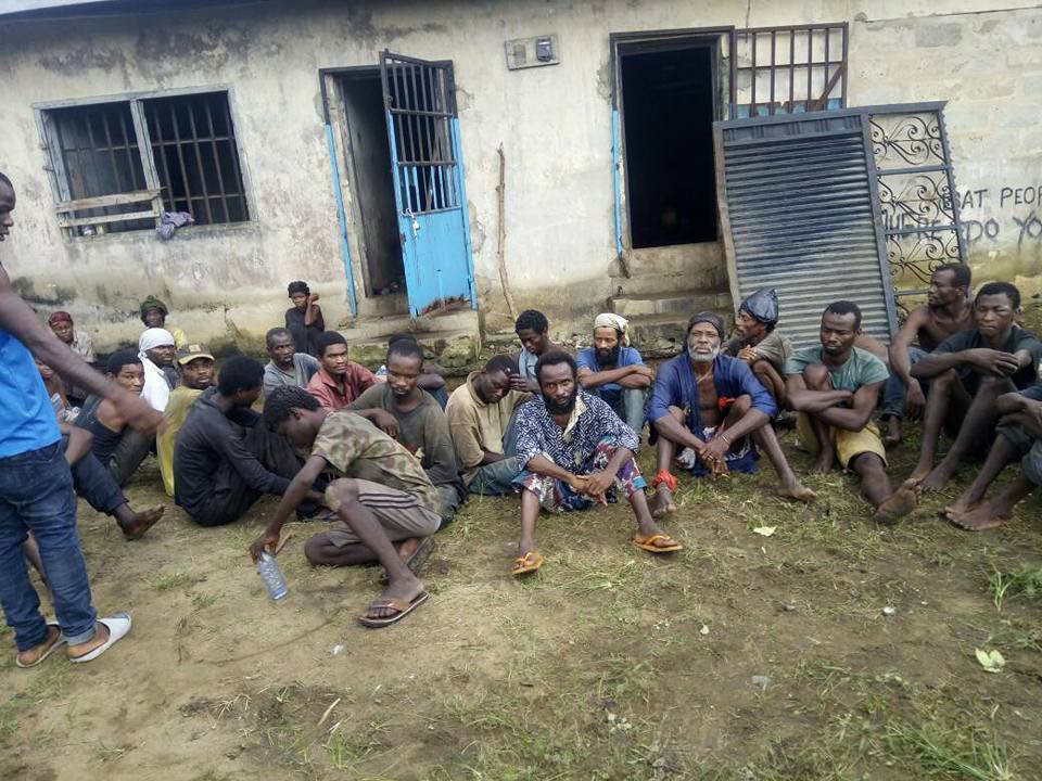 Government Begins Clamp Down On Mad People In Cross River State (Photos)