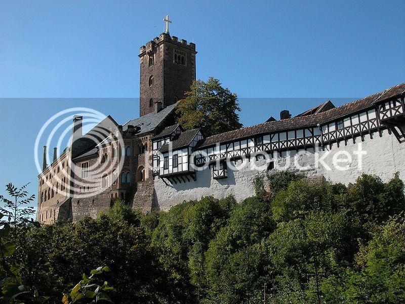 Wartburg in Germany