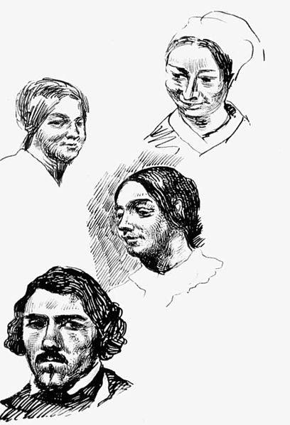 File:Eugène Delacroix - Page of a sketchbook - WGA6254.jpg