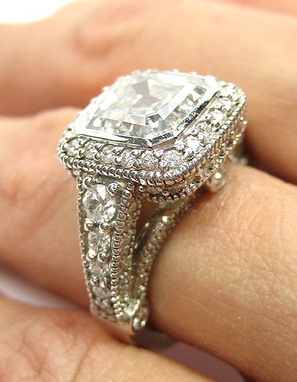 I will take this vintage diamond ring...Oh wait, guess I will just have to buy it myself... Lol