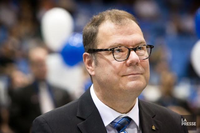 Le président du Bloc québécois, Mario Beaulieu, a... (PHOTO ROBERT SKINNER, ARCHIVES LA PRESSE)