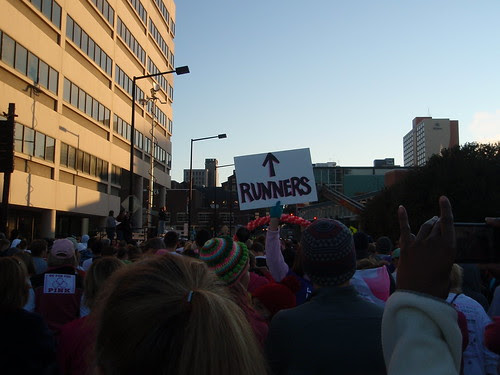 runners, that way