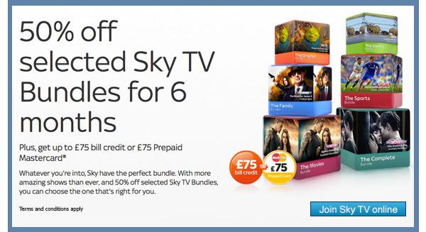 Sky Digital Offer