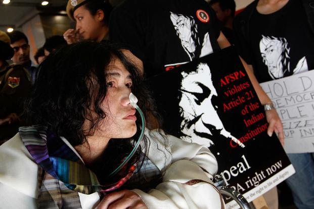 Irom Sharmila re-arrested on charges of attempt to commit suicide
