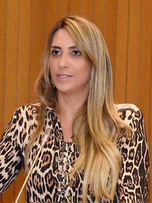 Deputada estadual Andrea Murad (PV)