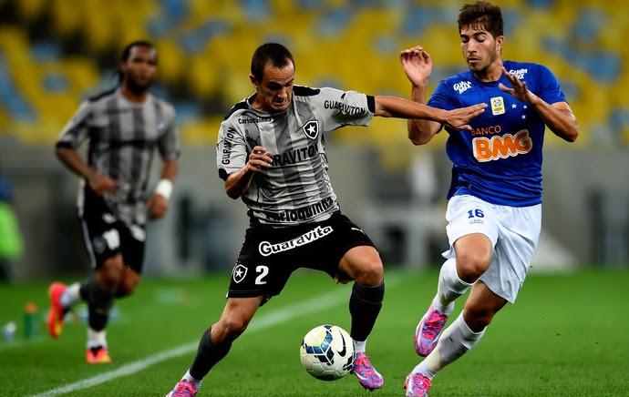 Lucas Botafogo e Lucas Silva Cruzeiro Série A (Foto: Agência Getty Images)