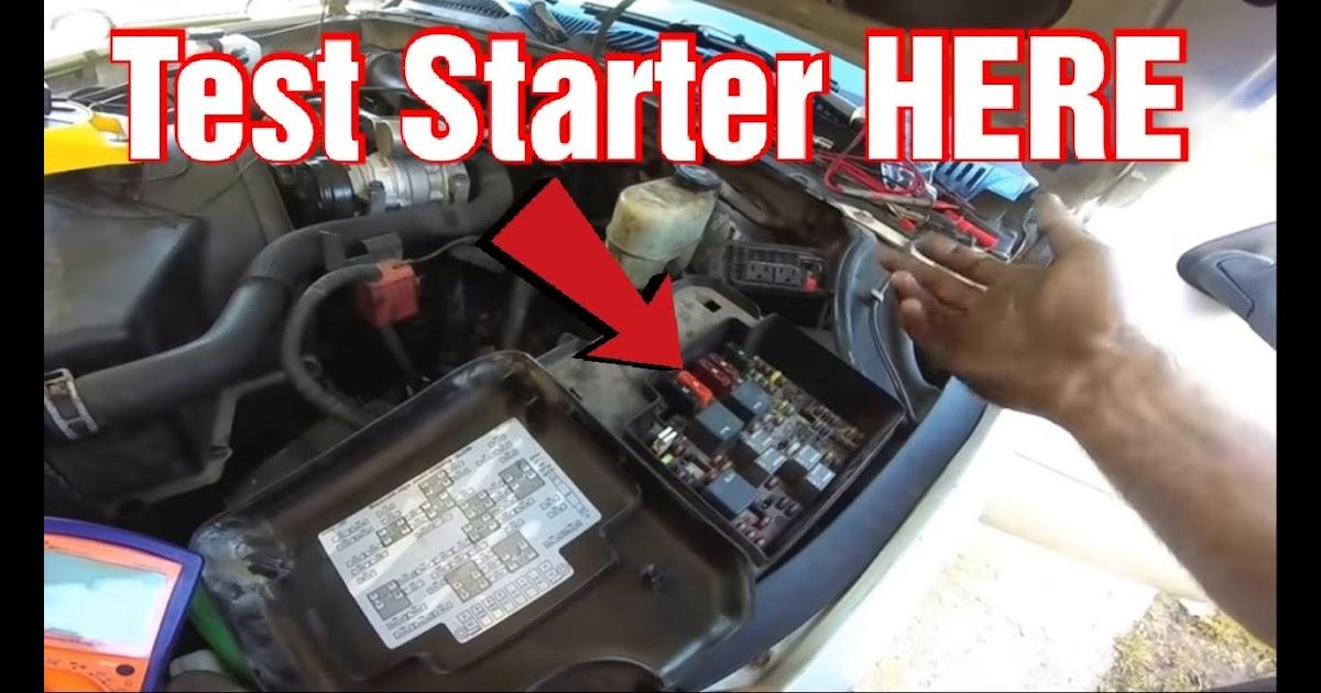 2002 Chevy Venture Starter Wiring