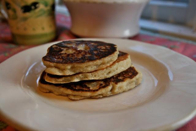 Organic Banana Coconut Pancakes
