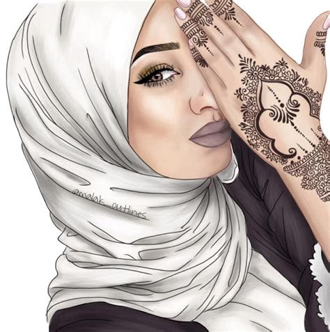 atgareebghuraba hijabi illustrations