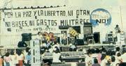 La izquierda encabezó las manisfestaciones antiotan