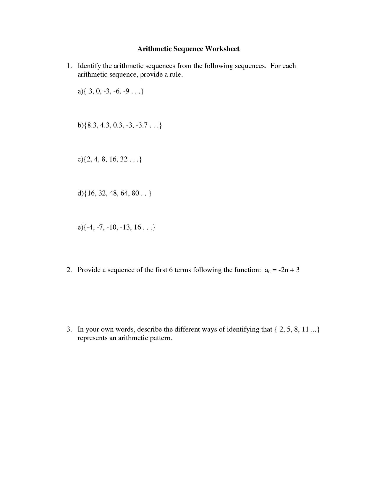 10 Best Images of Math Sequencing Worksheets  Number Patterns Worksheets 3rd Grade Math, Number