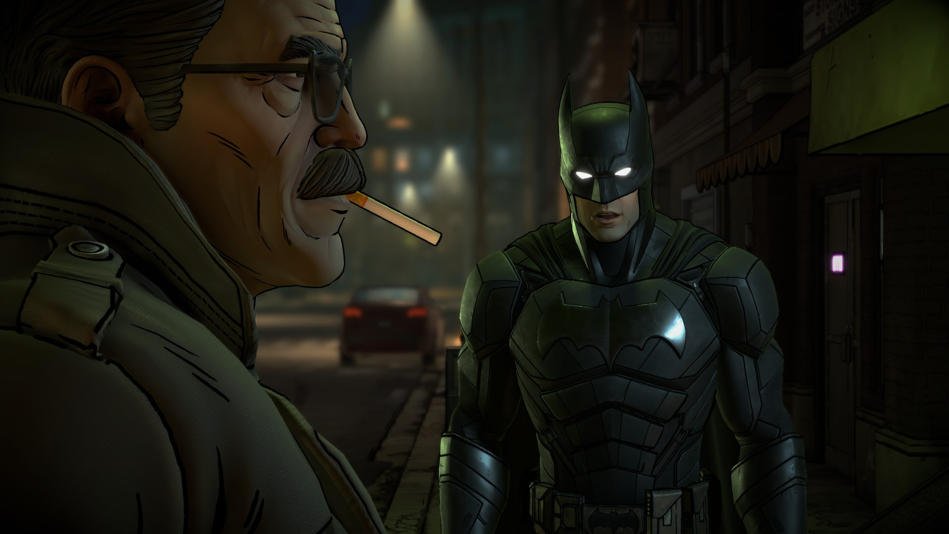 Review: Batman: The Enemy Within: The Enigma screenshot