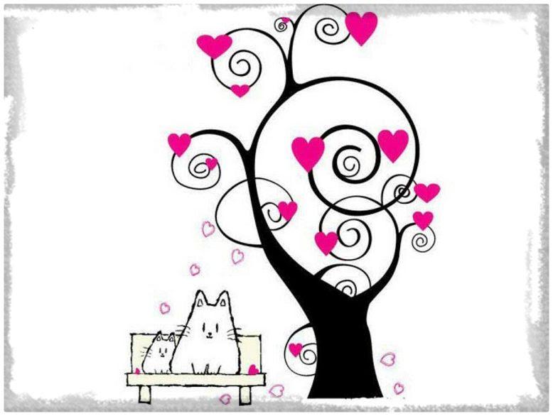 Imagenes De Amor Dibujos Animados Lápiz Fotos De Amor Imagenes