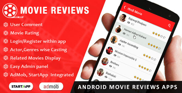 Codecanyon Movie Review App