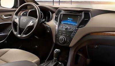 Hyundai Suv 2019 Santa Fe Interior