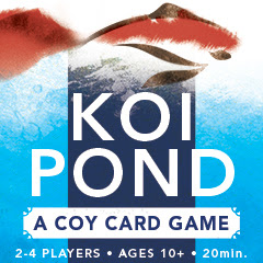 Koi Pond: A Coy Card Game by Daniel Solis for sale on DriveThruCards