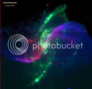 Brazos en espiral galaxia M106