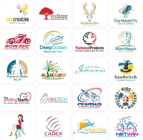 awesome cool business logos part  quiz logo