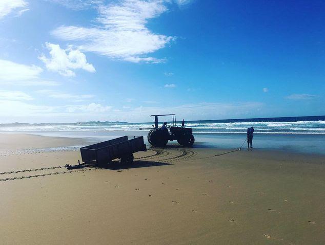 Παραλία Tofo, Μοζαμβίκη
