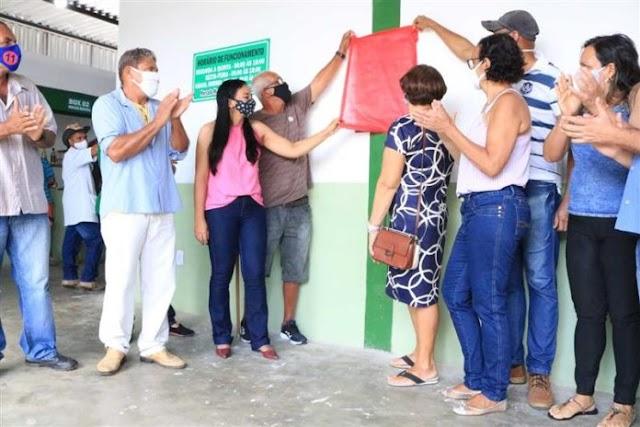 Mercado municipal de Santa Terezinha reabre conforme os protocolos de saúde