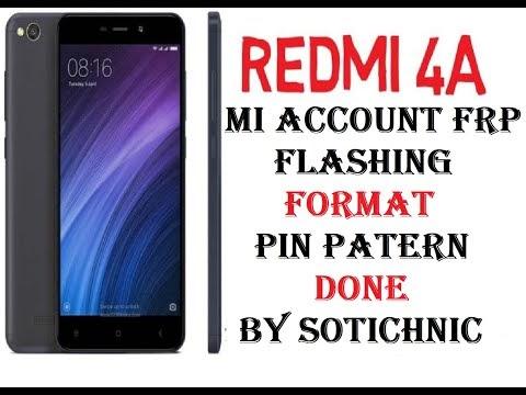 Redmi 4A mi account frp remove done file download by softichnic