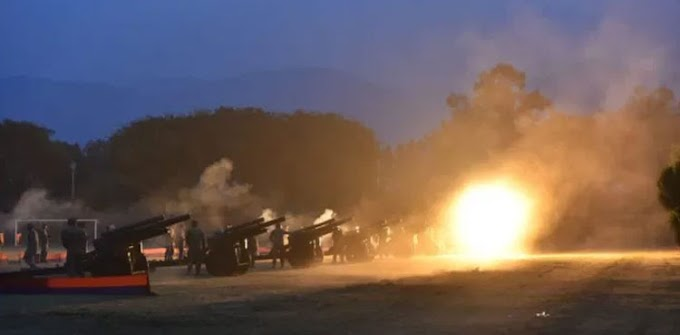 Eid Miladun Nabi: 21-gun salute held in Lahore, Peshawar