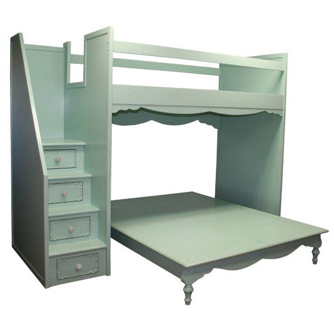 Simply Elegant Fantasy Full over Queen Bunk Bed by Country ...