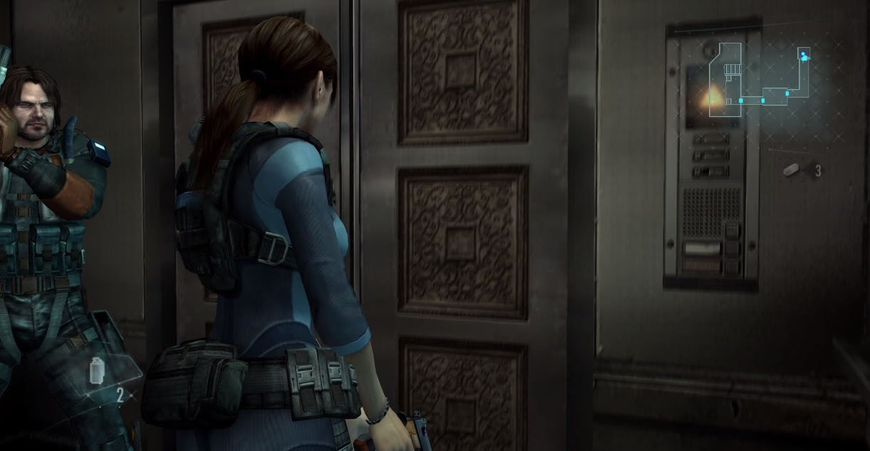 Resident Evil: Revelations looks smooth on PS4, but I don't think I need it again screenshot