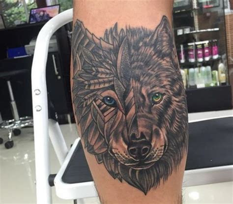 wolf tattoo ideen bilder und bedeutung