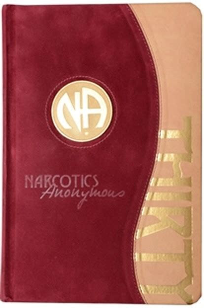 Narcotics Anonymous Main Text Leather Bound 30th