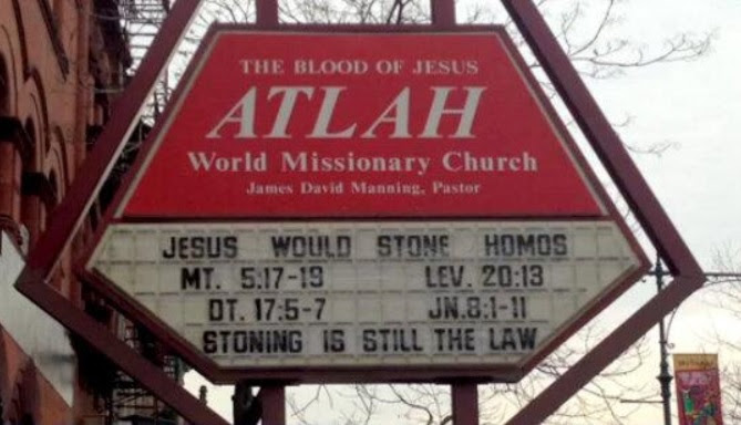 Lesbian Confronts Anti-Gay Harlem Church And Asks Them To Stone Her To Death