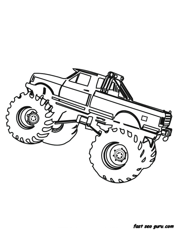 Coloring Pages For Kids Boys Cars - Drawing With Crayons