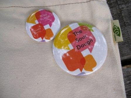 Foodbuzz Bag Buttons