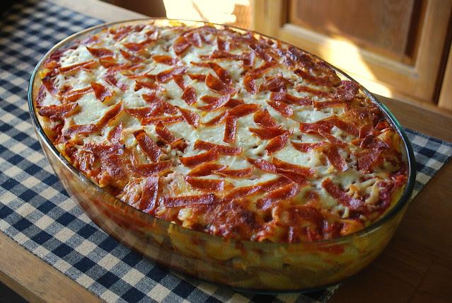 Pepperoni Pizza Casserole 2