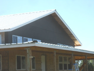 House External Upper West Siding Tar Paper Installed