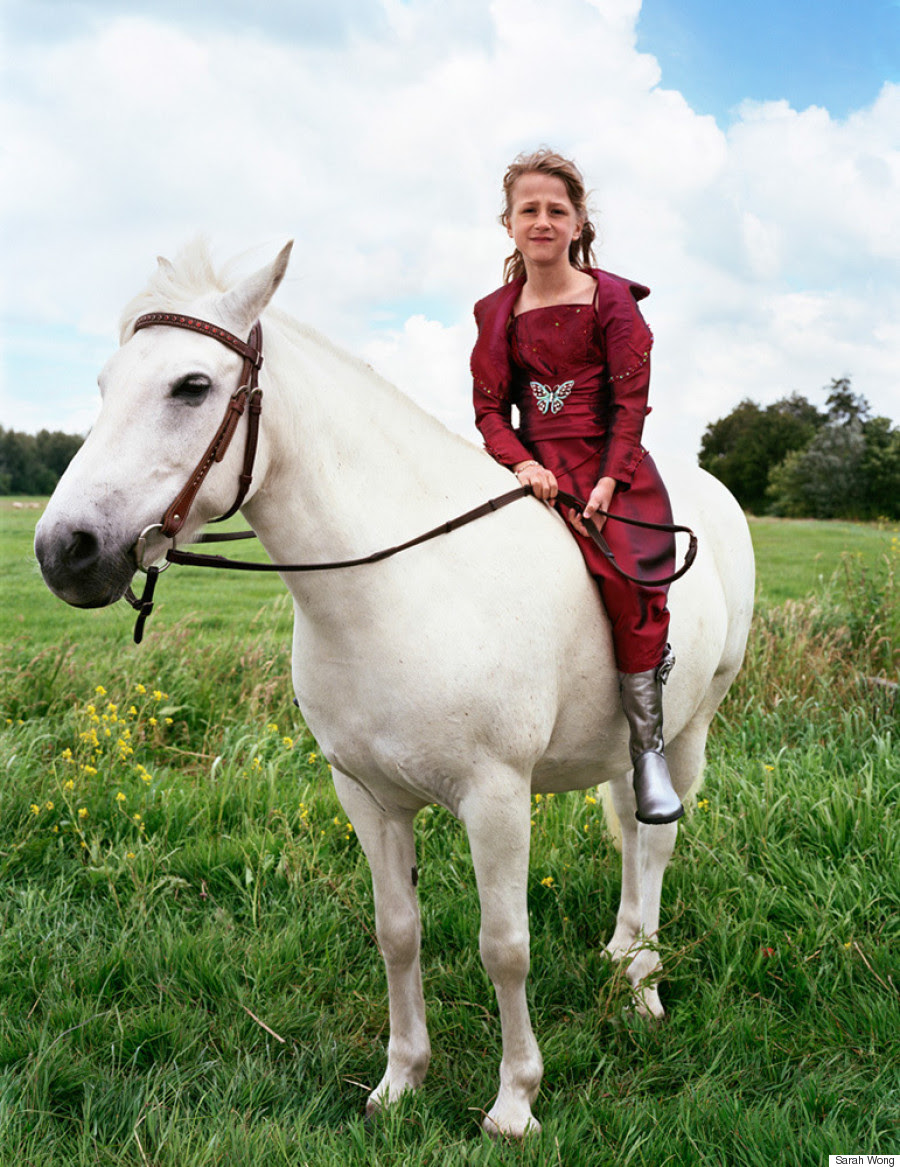 princess on white horse 2012