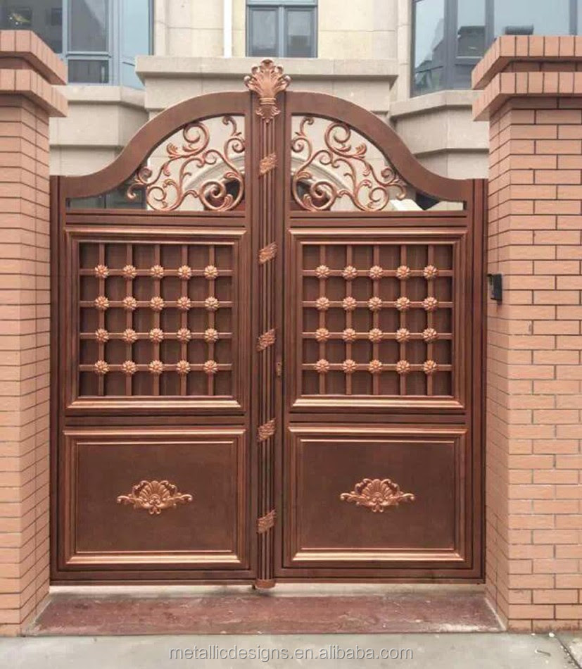 Gates Metal Gate Iron Main Gate Designs For House Made In China