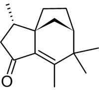 Struttura chimica di Albaflavenone