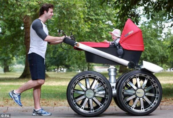 Η Skoda κατασκεύασε «αντρικό» καρότσι για μωρά (6)