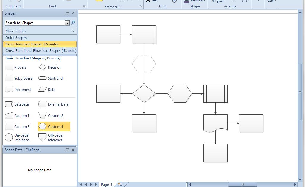 New Dfd Diagram In Visio 2010